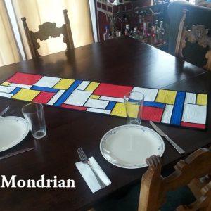 Mondrian Table Runner
