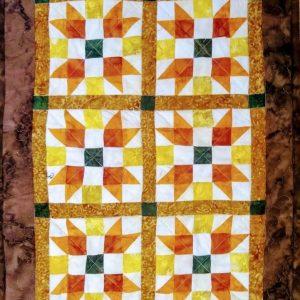 Fall Stars Mini Quilt SCC 107